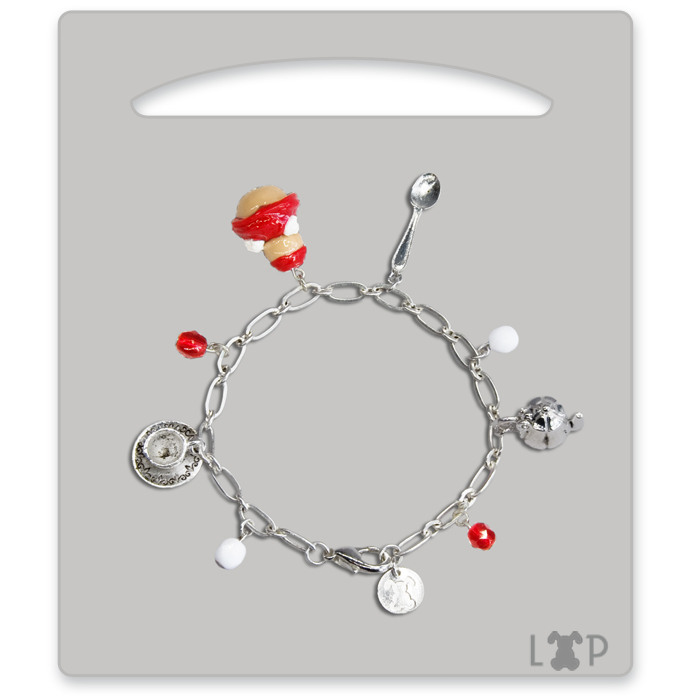 Bracelet Religieuse aux Fruits Rouges