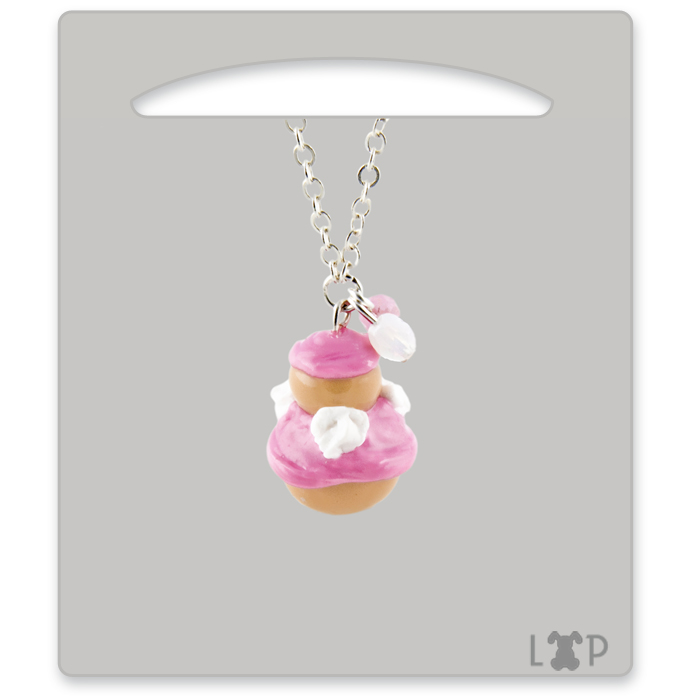 Collier Religieuse à la Rose