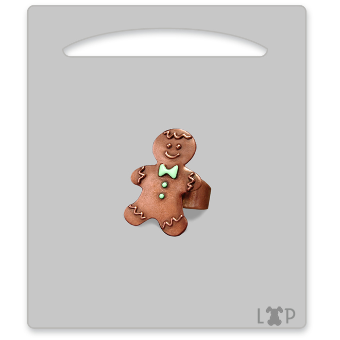 Bague Little Gingerman Vert
