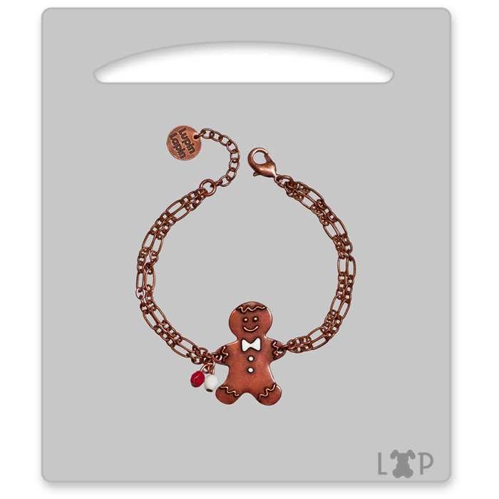 Bracelet Little Gingerman Rouge