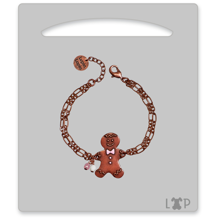 Bracelet Little Gingerman Rose