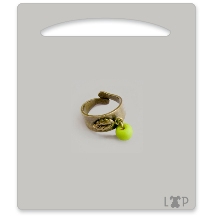 Bague Bourgeon Granny Smith