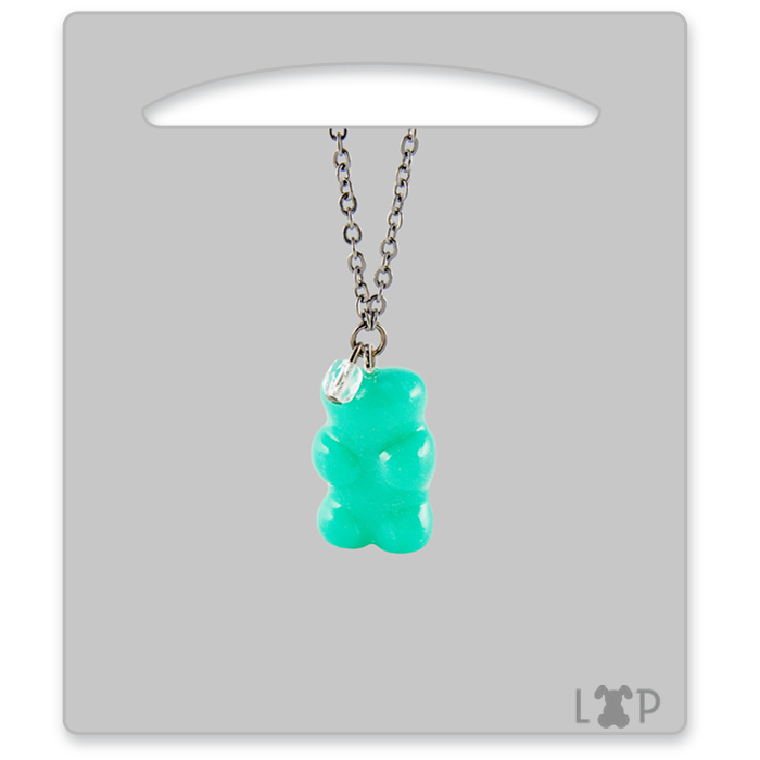 Collier Jelly Bear Lait Menthe